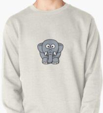 Elephant Illustration Pullover