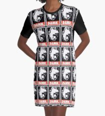 Kendrick Lamar Poster Graphic T-Shirt Dress
