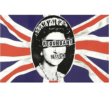 God don't save the queen funny punk shirt by SOpunk