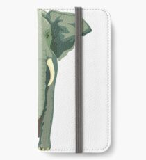 Elephant Full Illustration iPhone Wallet/Case/Skin