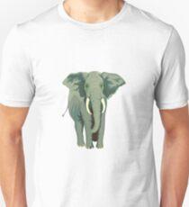 Elephant Full Illustration Unisex T-Shirt