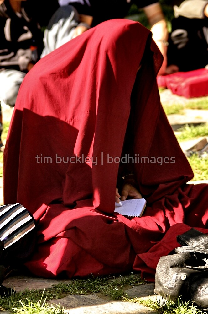 red shade. dharamsala, northern india by tim buckley | bodhiimages