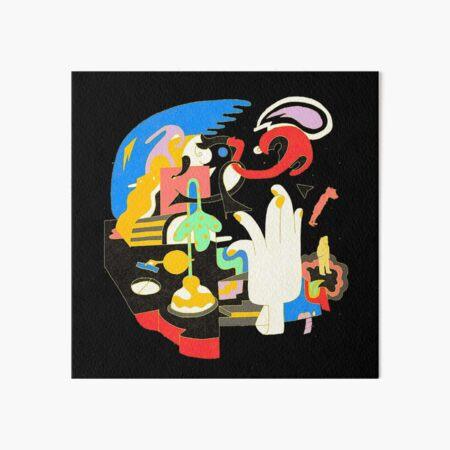 Mac Miller - Faces  Art Board Print