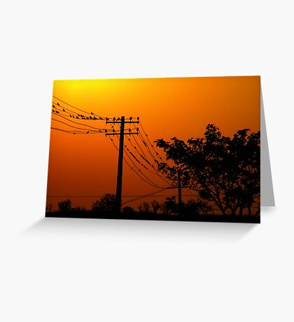 Near Day's End Greeting Card