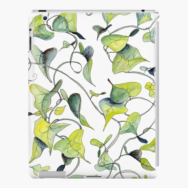 Blue and Green Vines, Pattern iPad Snap Case