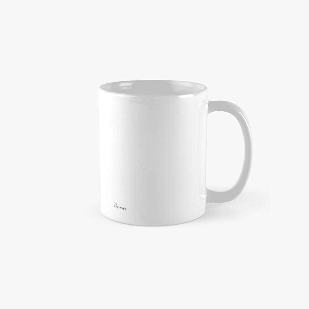 Picasso Line Art - Butt Mug