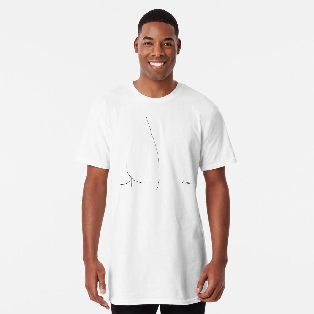 Picasso Line Art - Butt Long T-Shirt