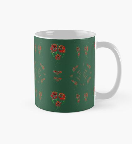Canal flowers abstract bywhacky Mug