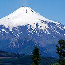 Chile, Villarrica, Majestic Volcano by Daidalos