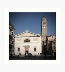 All These People - Venice, Campo San Maurizio Art Print