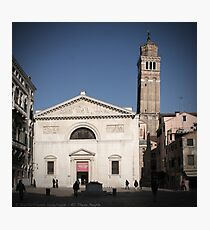 All These People - Venice, Campo San Maurizio Photographic Print