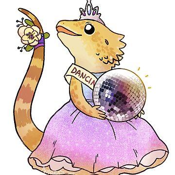 Beardie - Prom queen by petakov-kirk
