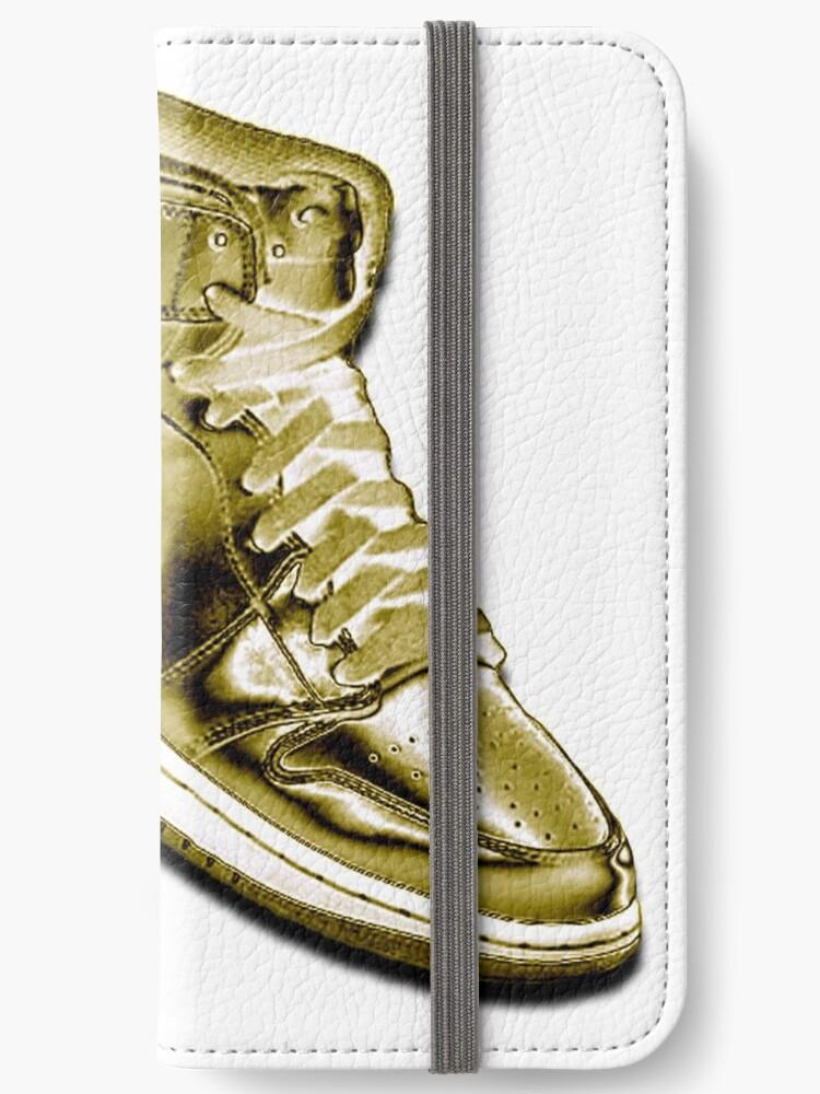 Nike Jordan Wallpaper Iphone Wallet By Lucagraphic Redbubble