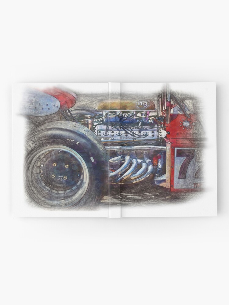 Alternate view of 1972 Surtees TS9B Hardcover Journal