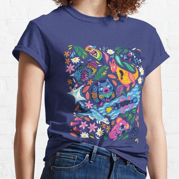 Decorative Australian animals Classic T-Shirt