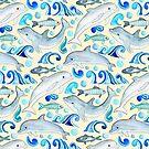 «Dolphin Frolic» de Tangerine-Tane