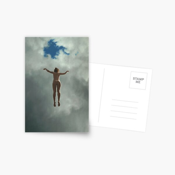 #fun #people #sky #outdoors adult freedom motion cloud sky women day only independence Postcard
