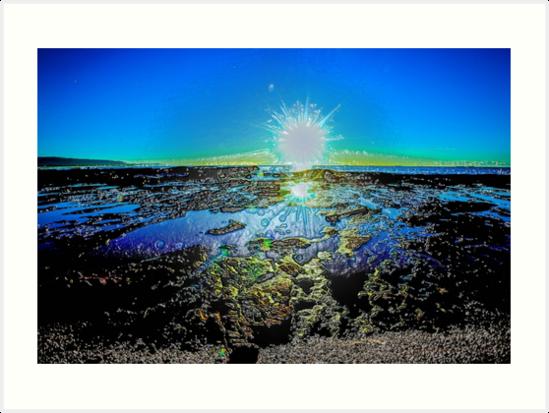 Sunrise Splash by Benedict Middleton
