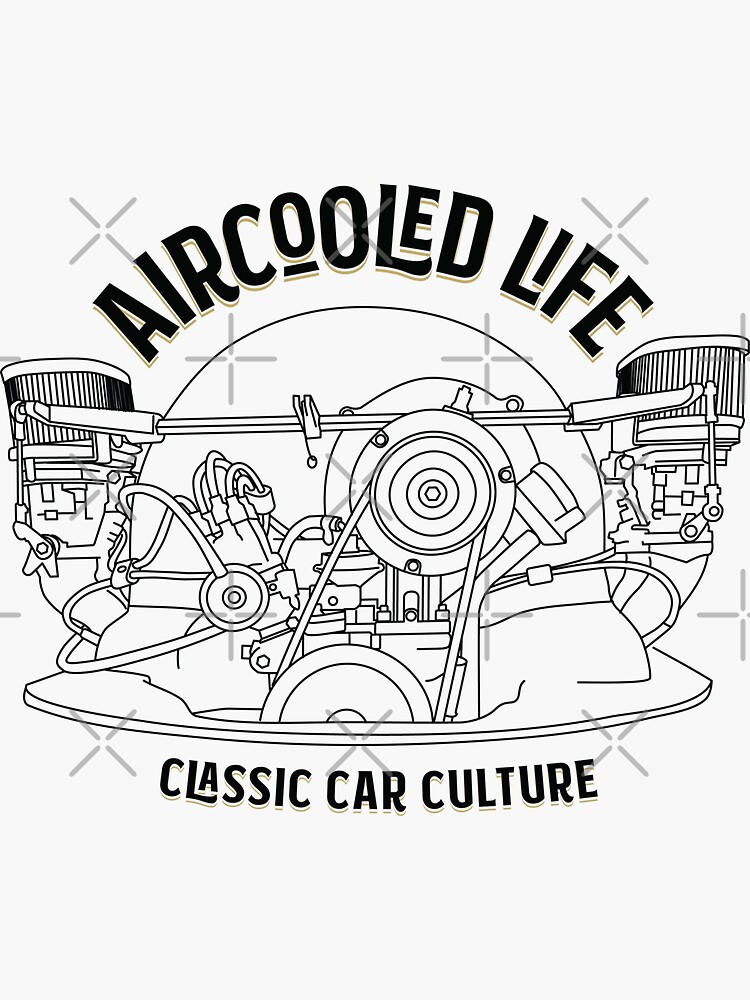 Aircooled Life - Classic Car Culture (Type 1 engine) by Joemungus