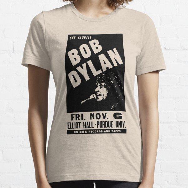 Bob Vintage Dylan Retro Concert Purdue University Camiseta esencial