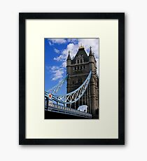 Historic Tower Bridge Framed Print