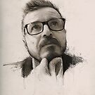Davide | Commission Portrait by Claudio Tosi
