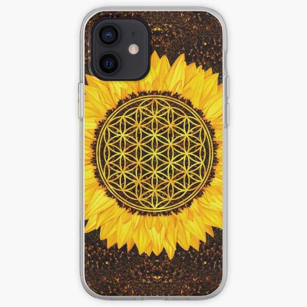 Flower of Life -Sunflower #2 iPhone Soft Case