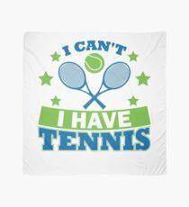 Tennis T-Shirts Bekleidung Ich kann nicht Tennis haben Tuch