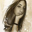 Girl | Commission Portrait by Claudio Tosi