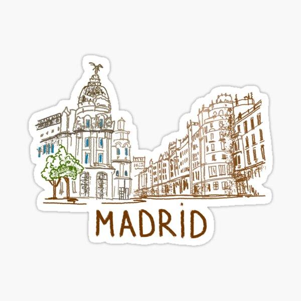 Madrid Sticker