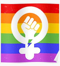 LGBTQ Intersectional Feminism Poster
