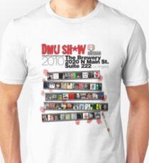 DMU SH*W 2010 (black text) Unisex T-Shirt
