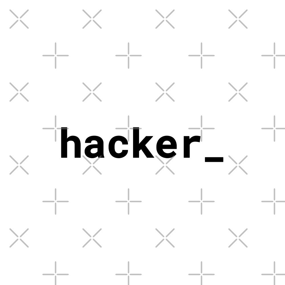 hacker_ (Inverted) by developer-gifts