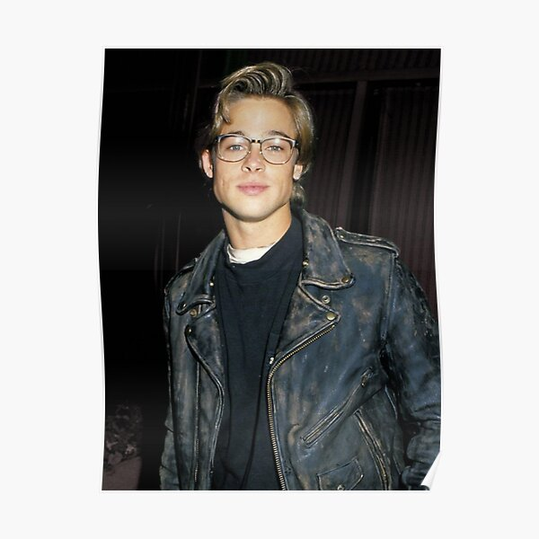Années 90 Brad Pitt Poster