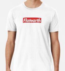 Supreme Flat Earth Men's Premium T-Shirt