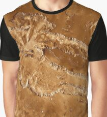 Valles Marineris Grafik T-Shirt