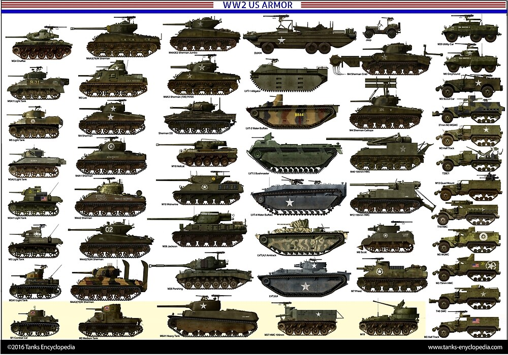 US WW2 Armour by TheCollectioner