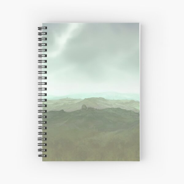 Moorland Spiral Notebook