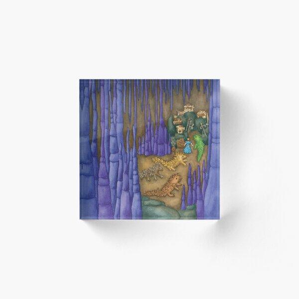 Esmeralda's Dragon Cave Acrylic Block