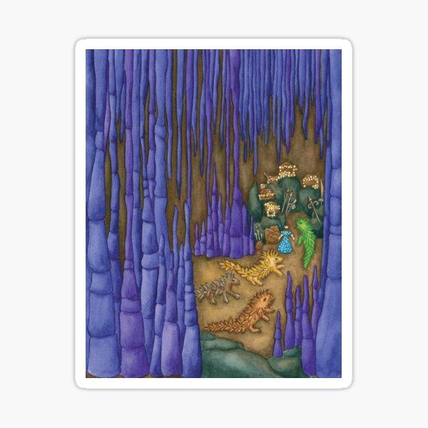 Esmeralda's Dragon Cave Sticker
