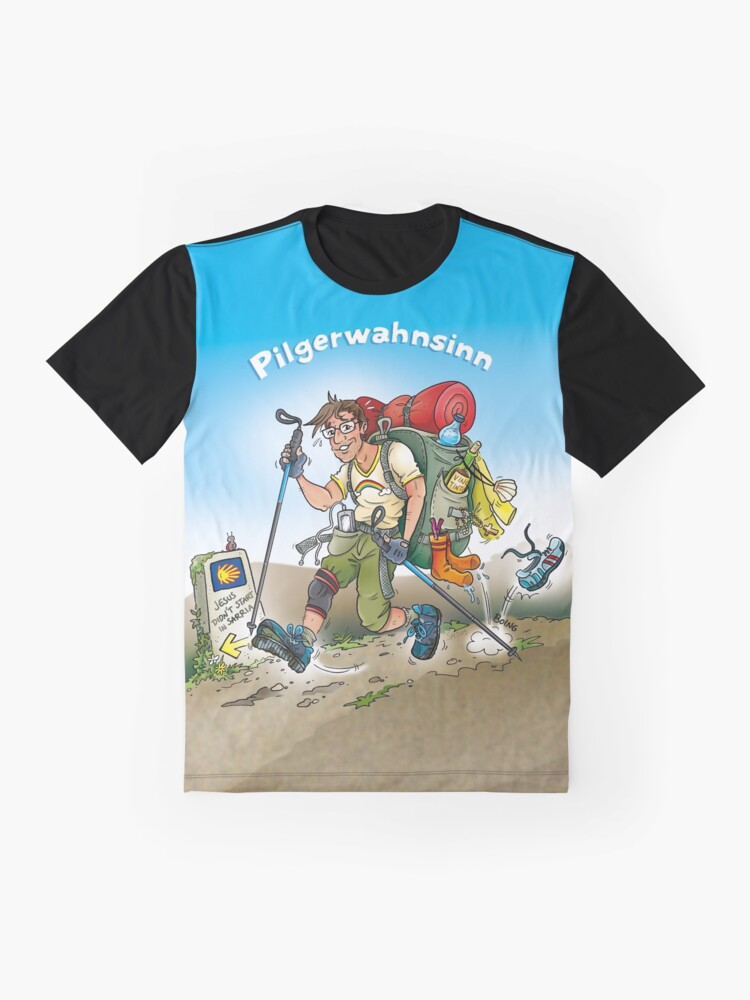 Alternative Ansicht von Pilgerwahnsinn Grafik T-Shirt