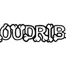 Loudribs Logo (Hollow Text) by loudribs