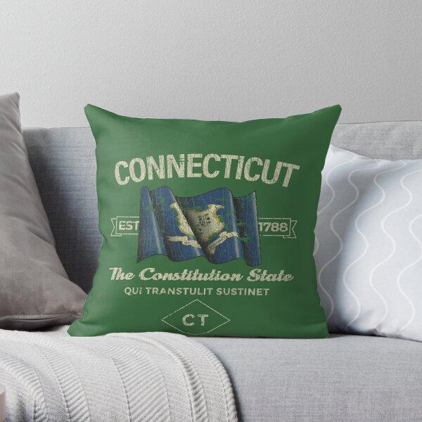 Connecticut 1788 Throw Pillow