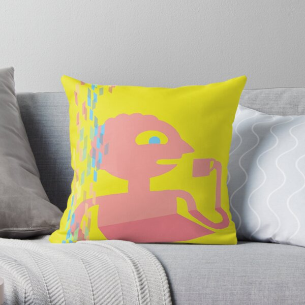 PRISMO THE WISH MASTER Throw Pillow