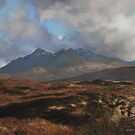 The Coullins Mountain Range, Isle of Skye by Graham Clark