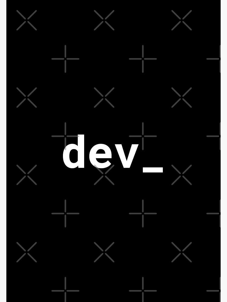 dev_ by developer-gifts