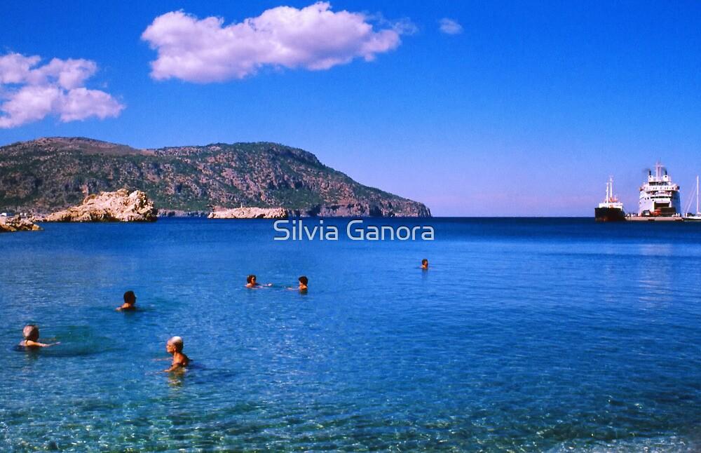 Bathing by Silvia Ganora