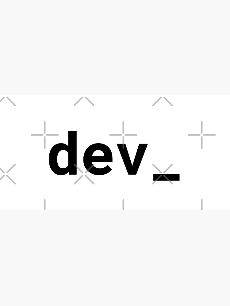 dev_ (Inverted) by developer-gifts