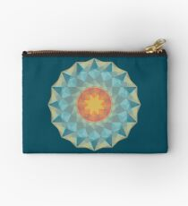 Star Mandala Zipper Pouch