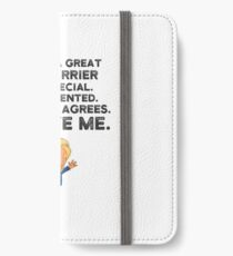 Mail Carrier Funny Trump iPhone Wallet/Case/Skin